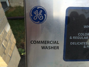 G&E Coin Operated Commercial Washing Machines