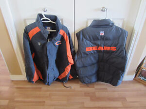 Chicago Bears Jacket and Vest