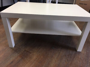 IKEA Lack white wooden coffee table