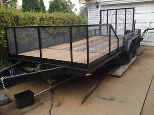 20 FOOT TANDOM WHEELTRAILER