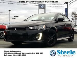 2017 MITSUBISHI LANCER SE Black Edition - One Owner, Trade In