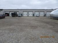 INDUSTRIAL space with great SHOP, 14' DOORS, SECURE YARD