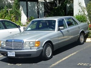 '88 MERCEDES BENZ 420 SEL GREAT SHAPE $2500 OBO