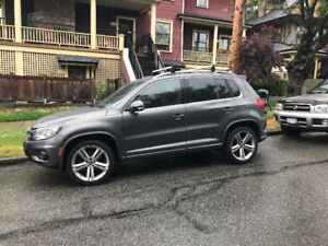 VW TIGUAN RLINE HIGHLINE