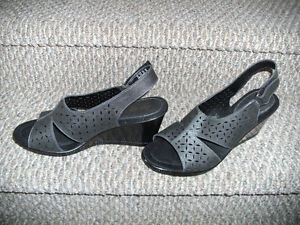New Wedge Sandals - Size 12