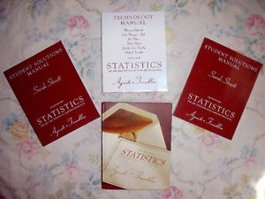 Statistics books (2e) by Agresti and Franklin Edmonton Edmonton Area image 1
