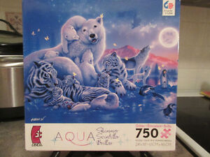 NEW! 750 piece  Ceaco puzzle -  Song of the Moon  Glitters!!