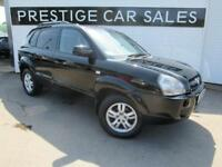 2006 Hyundai Tucson 2.0 CRTD Limited Edition 4WD 5dr Diesel black Manual