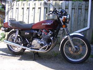 Moto Vintage Superbe Suzuki GS1000