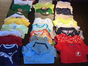 Linge pour bébé garçon 6 - 12 mois