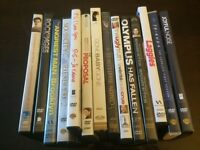 Variety of DVDs, PRICE: $25 for all or 2.50 each!
