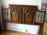 head board for sale ...fits queen size bed