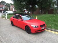 Bmw 520I Se 2004 Automatic Matt Red MAY SWAP OR PX