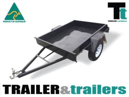 6x4 single axle box trailer rated @ 600kg GVM Thomastown Whittlesea Area Preview