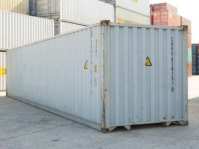 40ft High Cube 96 High Shipping Container Cargo-worthy Detroit Michigan