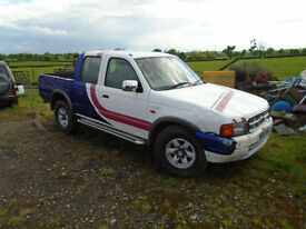 2001 Ford Ranger 2.5TD 4X4 Pick Up 2000MY XLT Double Cab