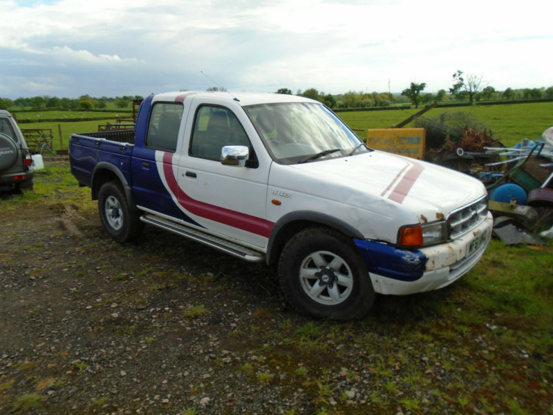 2001 ford ranger 2 5td 4x4 pick up 2000my xlt double cab in milton keynes buckinghamshire. Black Bedroom Furniture Sets. Home Design Ideas