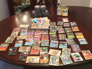 Almost 1400 Pokemon Cards, EXs, Megas, Breaks, Trainers, $150