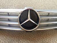 Mercedes Benz Cls Silver Grill