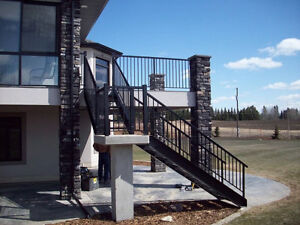 Aluminum Deck and Stair Railing