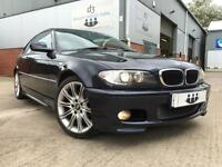 2005/55 BMW 318 2.0 Ci Sport Coupe with M Sport Spec Deep Blue Metallic