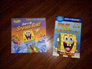 SpongeBob Squarepants Book Lot - VGUC