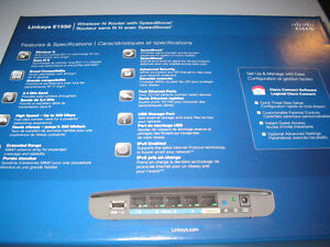 Linksys E1550 Wireless Router Belleville Belleville Area image 4