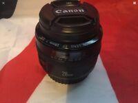 CANON EF 28mm PRIME PORTRAIT LENS, PLEASE READ FULLY!