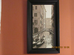 Venice canvas picture (one of two)