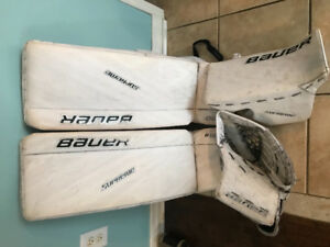 Bauer pads for sale