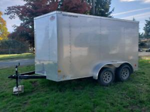 """2017 """"V"""" nose cargo trailer"""
