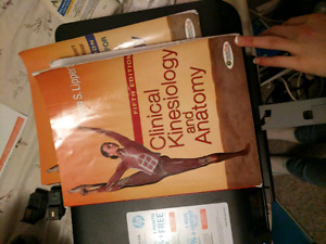 Fifth Edition Clinical Kinesiology and Anatomy Text book.