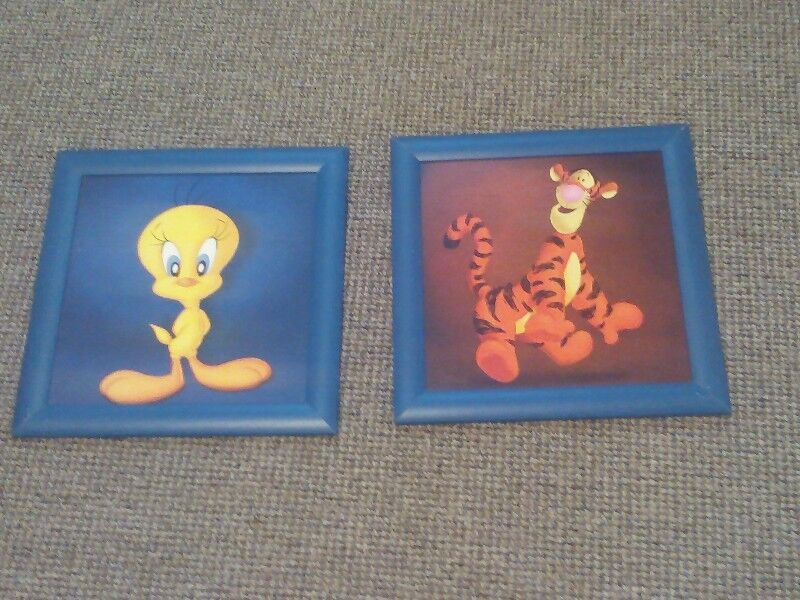 2 Disney Character Pictures.