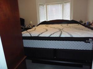 king-size full bedroom set, $1450