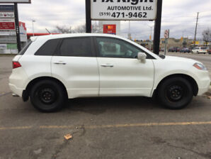 Pearl White 2007 Acura RDX for Sale