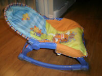 Chaise bercante inclinable FISHER PRICE