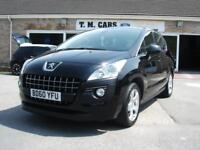 2010 (60) Peugeot 3008 Crossover 1.6HDi Sport 5d **65,000 miles**