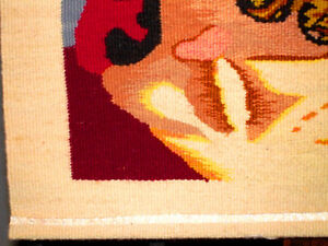 CROWN of THORNS Jesus HAND LOOM WOVEN TEXTILE wall hanging Cambridge Kitchener Area image 5