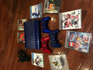 PlayStation 3 with 8 games