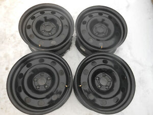 "Genuine Ford 17"" Steel Rims with Pressure Sensors"