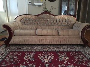 Sofa and Chair for free ----pic up only