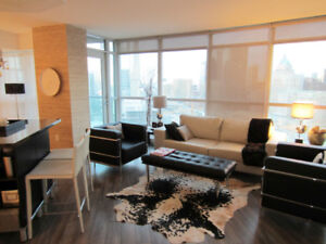 ALL INCLUSIVE*FURNISHED*Luxury 2BED 2 BATH+Parking @ Yonge/Union