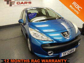 Peugeot 207 1.4 Sport 5DR -FULL SERVICE HISTORY! LOW MILEAGE! FINANCE AVAILABLE!