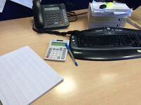 Bookkeeping services £15 per hour