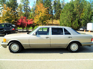 1989 MERCEDES-BENZ 420 SEL  COLLECTOR CONDITION