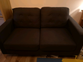 3 and 2 seater grey sofa
