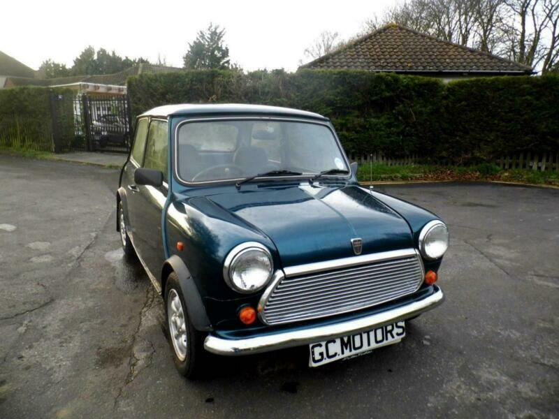 1993 Austin Rover Mini Rio Le Limited Edition 13 Carribean Blue