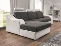 Corner Sofa Bed LUCY Right SALE!