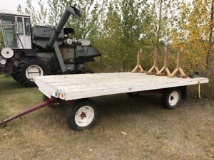 4 Wheel Farm Wagon Flat Deck Trailer