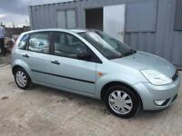 FORD FIESTA 2004 1.4 MY GHIA 16V PETROL MANUAL FULL SERVICE HISTORY